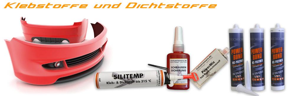 SchatTec 1 und 2K Klebstoffe & Dichtstoffe