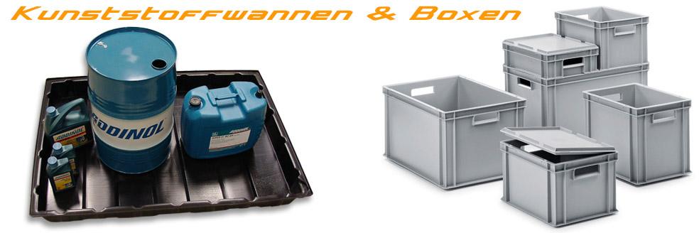 Kunststoff-Wannen & Kunststoffboxen